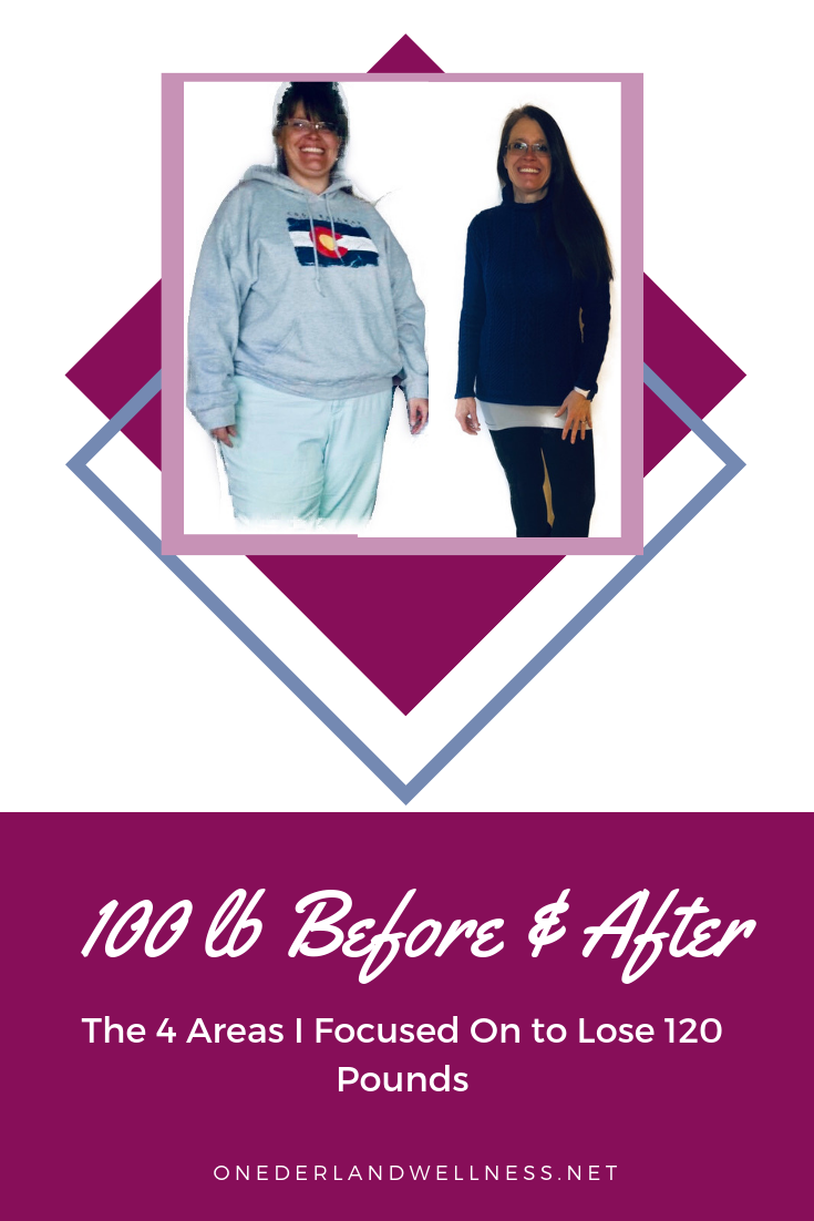 100 Pound Weight Loss Before And After-The 4 Area\'s I Focused On to Lose 120 Pound