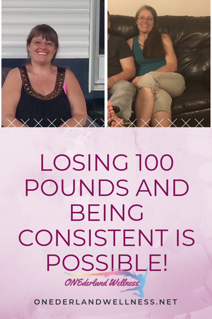 Losing 100 Pounds and being Consistent is Possible!
